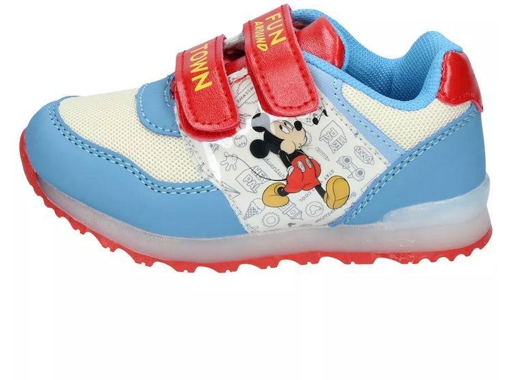 Caminar Celeste Con Zapatillas Luces Al Niños nmvN80w