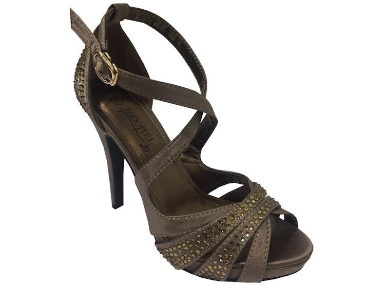 calidad asombrosa nuevo autentico diseño distintivo Zapato de fiesta Dorado ZAU42 Todopiel