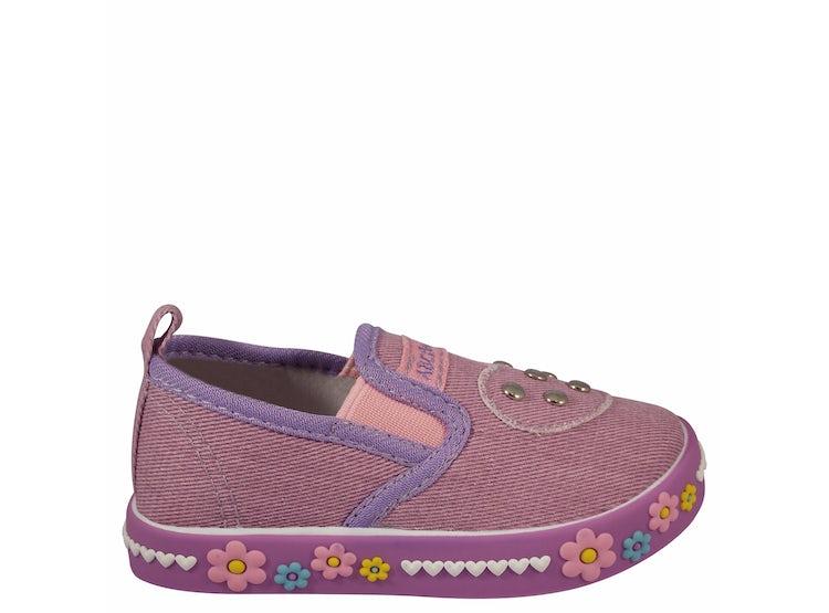 Baby Abc Morado Purple 1sz2119 Zapatilla Lona 31TFclJK