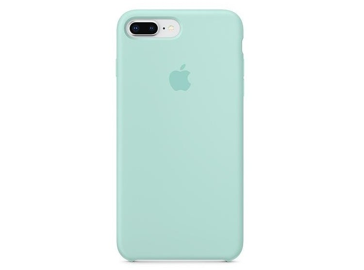 554d20158c8 TECH21. CARCASA FUNDA DE SILICONA IPHONE 7 PLUS Y 8 PLUS VERDE MARIN.  $28.990; $19.990