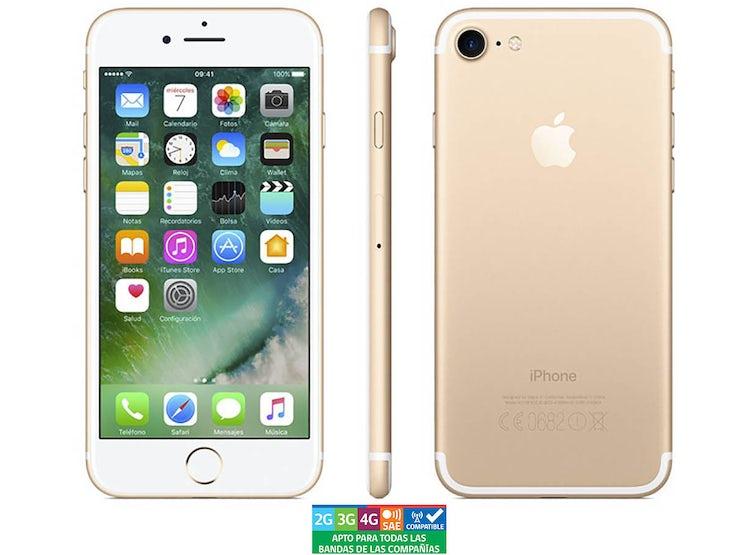 5a7cf7a9fd9 Ripley - APPLE IPHONE 7 128GB DORADO REACONDICIONADO - GARANTÍA 13 MESES