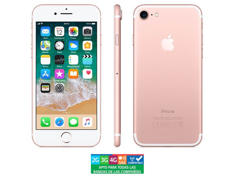 5dc69a98107 APPLE IPHONE 7 256GB ROSADO REACONDICIONADO - GARANTÍA 13 MESES