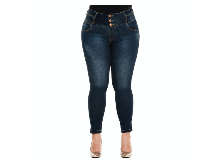 Ripley Jean Levantacola Colombiano Talla Plus Jp 2095 Truccos Jeans Paopink