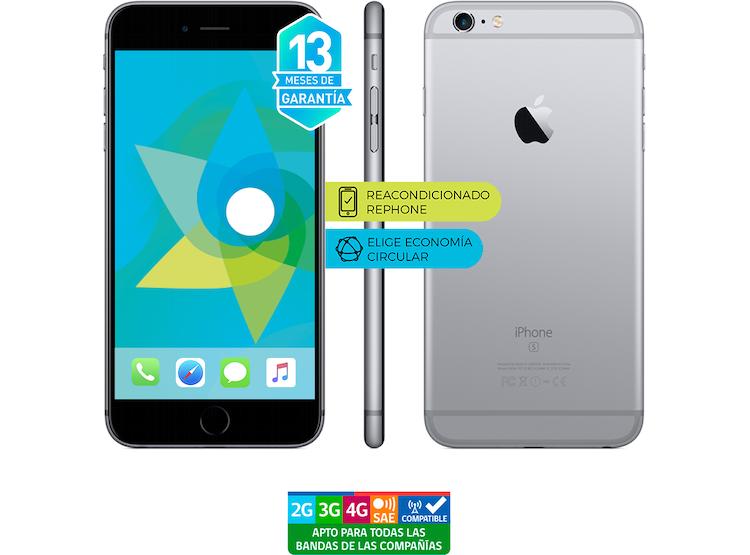 11e62206d9f APPLE IPHONE 6S PLUS 32GB GRIS REACONDICIONADO - GARANTÍA 13 MESES