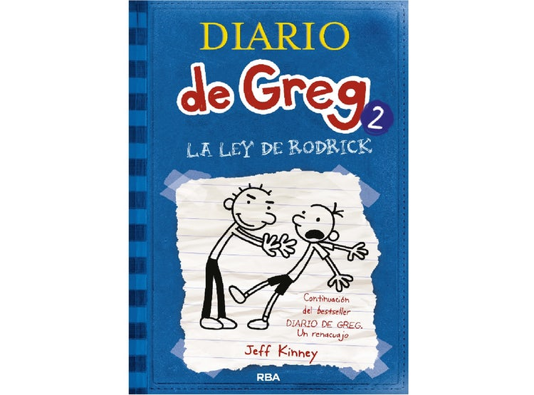 Ripley Diario De Greg 2 La Ley De Rodrick