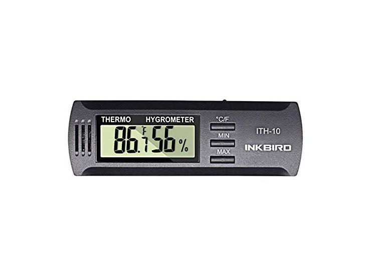 Ripley Inkbird Dc 3v Entrada Termometro Digital Y Medidor De Humedad Higrometro Ith10 Visualice simultáneamente la temperatura, la humedad y el tiempo. ripley com