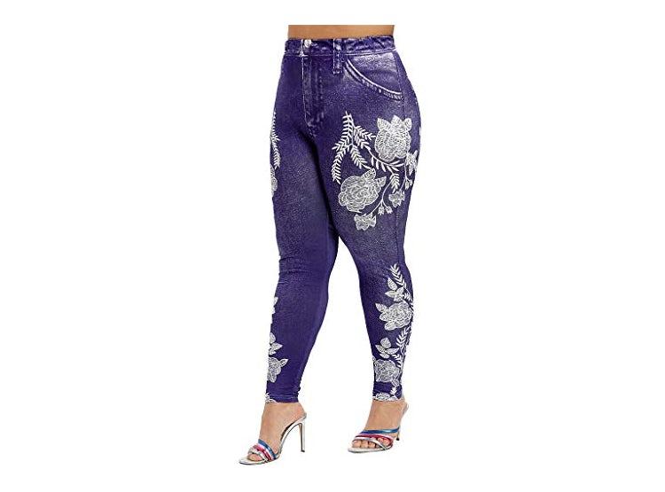 Ripley Sinzelimin Pantalones Vaqueros Para Mujer De Moda Informales Estampados