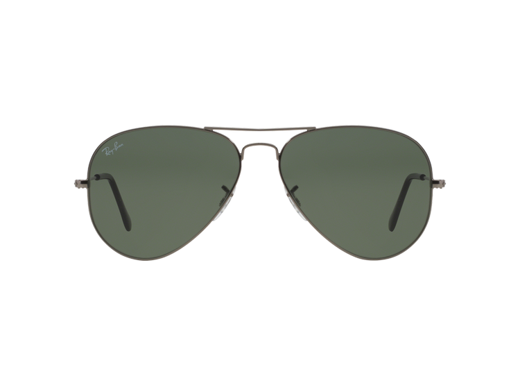 Boutique en ligne a4beb 93582 Ray Ban Aviador Gunmetal lente Green / Grey