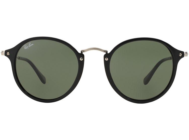 84249a2d48 Ripley - Ray Ban Round Fleck Black lente Green