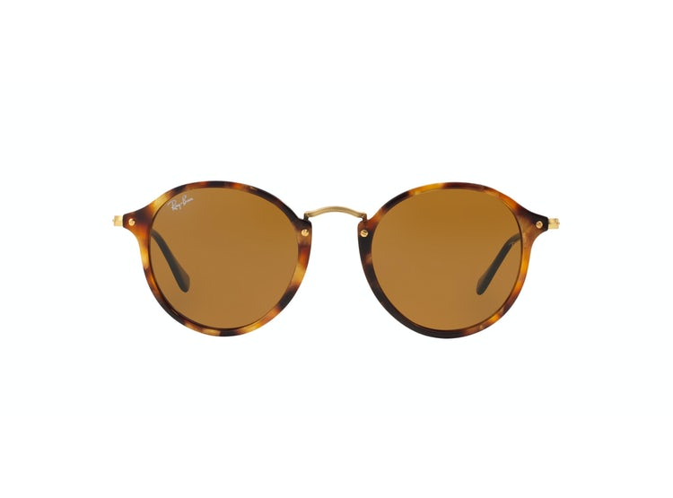 0bc29b74af Ripley - Ray Ban Round Fleck Spotted Brown Havana lente Brown
