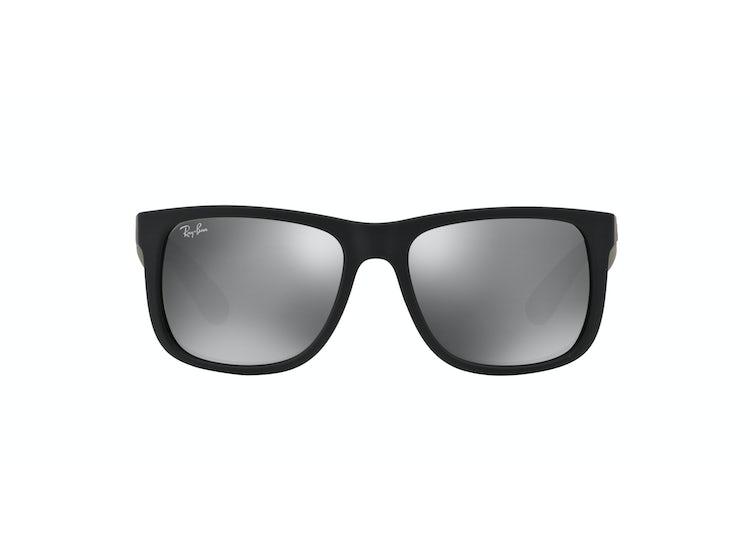 252c33694e Ripley - Ray Ban Justin Rubber Black lente Mirror Silver