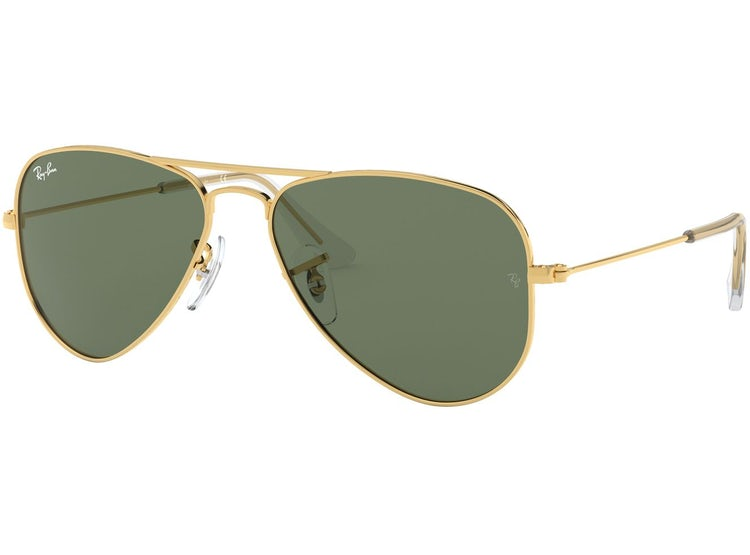 37e094e1133c3 Ripley - RAY BAN JUNIOR JUNIOR AVIATOR GOLD LENTE GREEN (PRODUCTO ...
