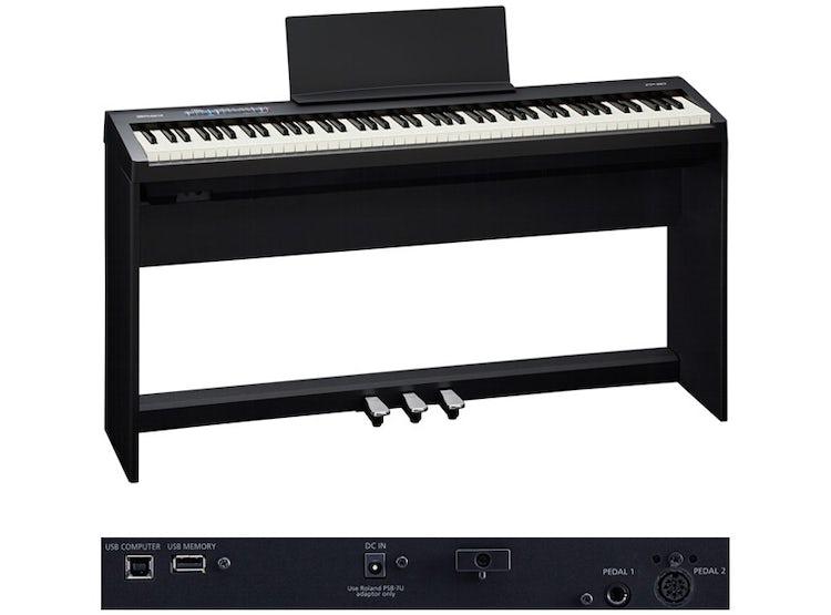 Ripley Piano Digital Roland Fp 30 Color Negro Roland