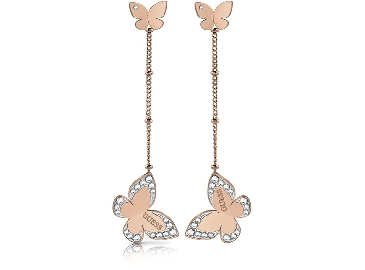 a9b17ae8ff67 Ripley - AROS LOVE BUTTERFLY ORO ROSA GUESS JEWELLERY