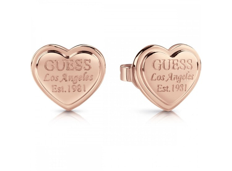 6d9f4a567f45 GUESS JEWELLERY. AROS FOLLOW MY CHARM ORO ROSA GUESS JEWELLERY
