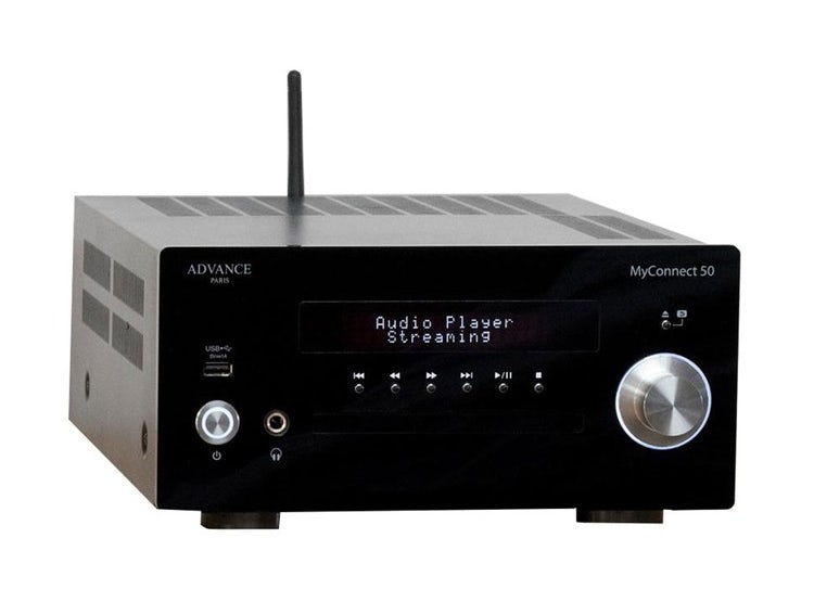 AMPLIFICADOR AUDIO STEREO PLAYER STREAMING ADVANCE MY CONNECT50