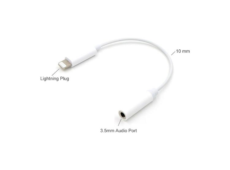 add84ff9284 Ripley - Adaptador Audífonos Lightning iPhone 7 y 7 Plus