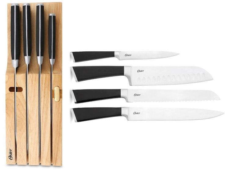Set de 6 pc de cuchillos de acero forjado Oster 9e42c1b5f9d4