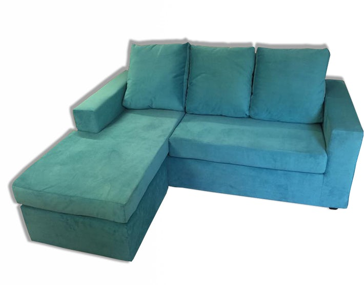 Sofa En L Modelo Bi Turuqesa