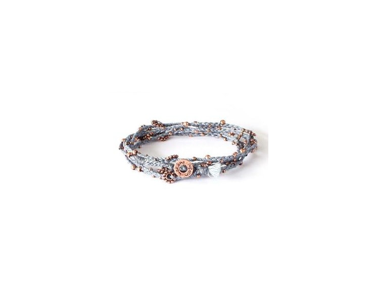 f112d6bcf286 Ripley - Collar - pulsera tejida con mostacillas bronce WAKAMI