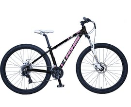 Bicicleta Khs Sf 200 Mujer Aro 275 Talla 15 Small Negra Con Rosado