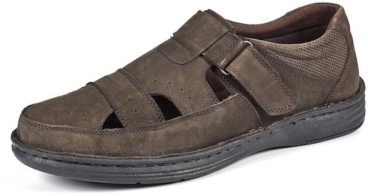 Zapato Cuero JK TROPIC Café ENZO MANZINI 38ac4e2c4132