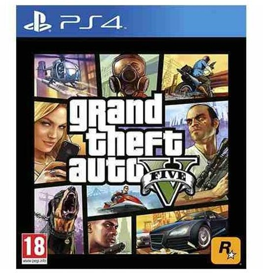Ripley Grand Theft Auto Gta V Ps4 Juego Fisico Phone Store