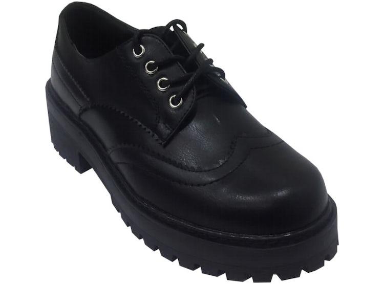 0e8ff41ae41 Zapato escolar simil cuero Negro ZAV53
