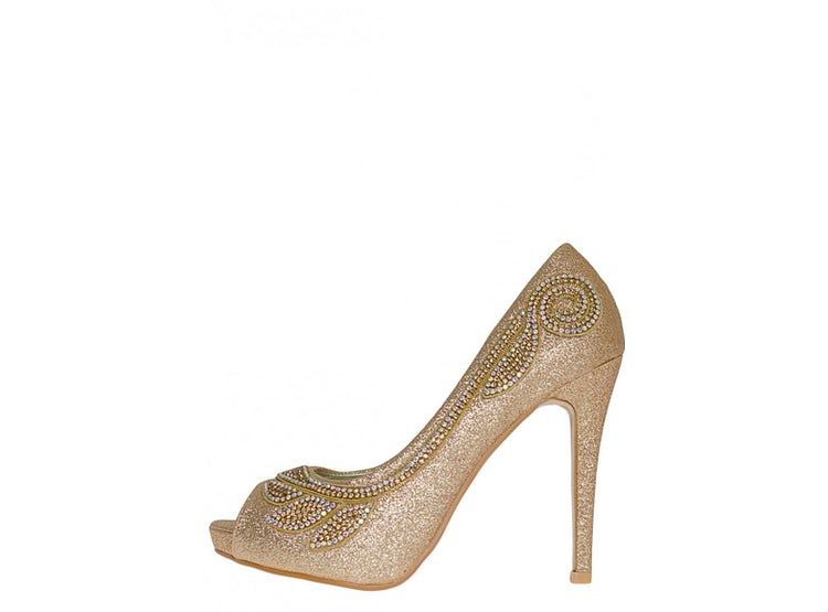 Zapato Fiesta Ailish Dorado 80ba569a7e920