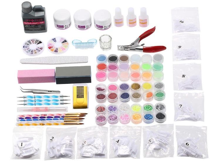 Kit Completo De Decoración De Uñas