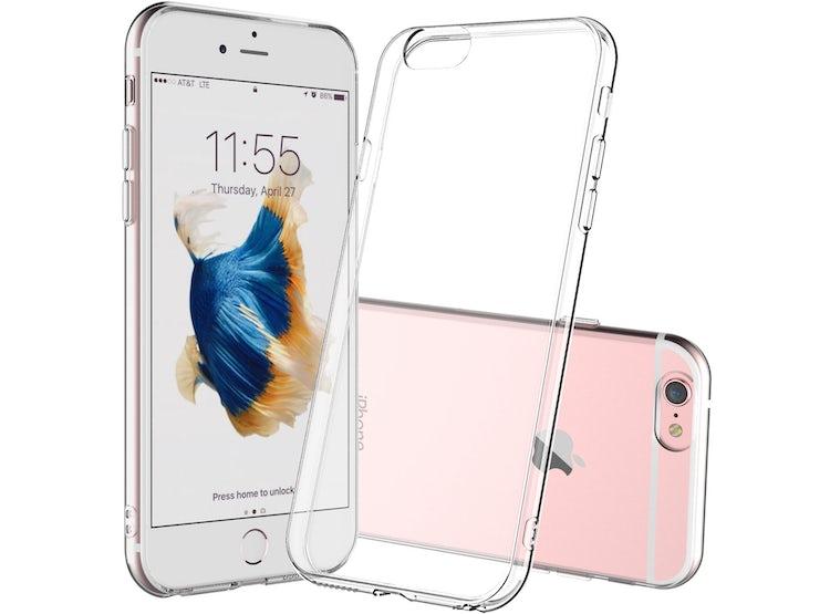 e265f4b6336 Ripley Carcasa Funda Silicona Iphone 6 Plus Transparente