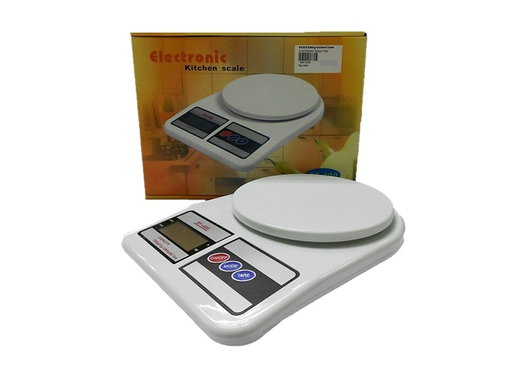 Ripley - Balanza Pesa Digital 0 Gramos a 7 Kilos Cocina Multiuso