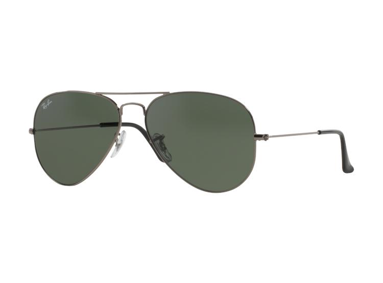 0dcffc44ec Ripley - Ray Ban Aviador Gunmetal lente Green / Grey