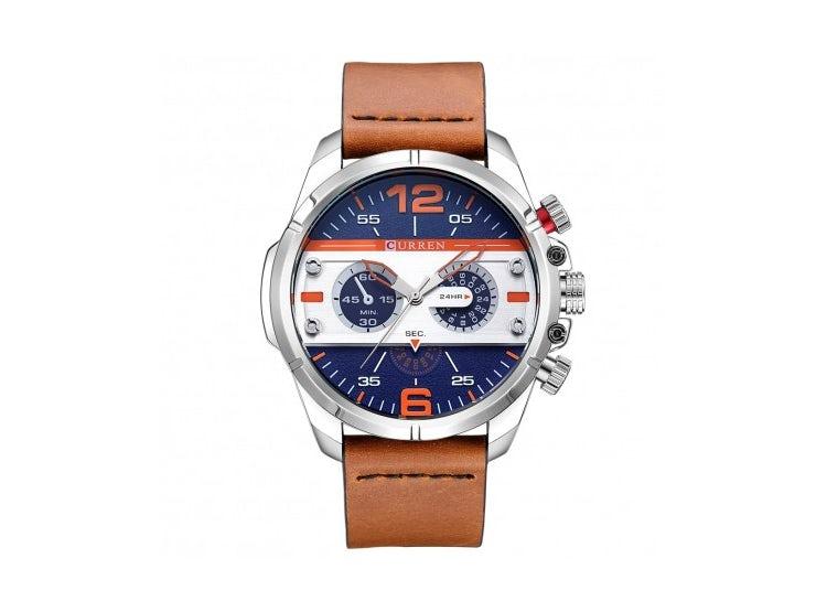 Reloj hombre 8259 curren azul  3c6c28dcac6