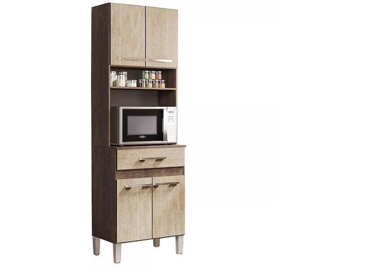 Ripley - Kit Mueble Cocina 4 Puertas 1 Cajón Freijo 137406