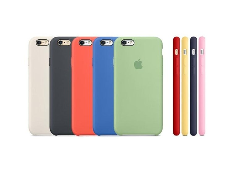 9e100b98183 Ripley Carcasa Funda De Silicona Para Apple Iphone 6 Y 6s Colores