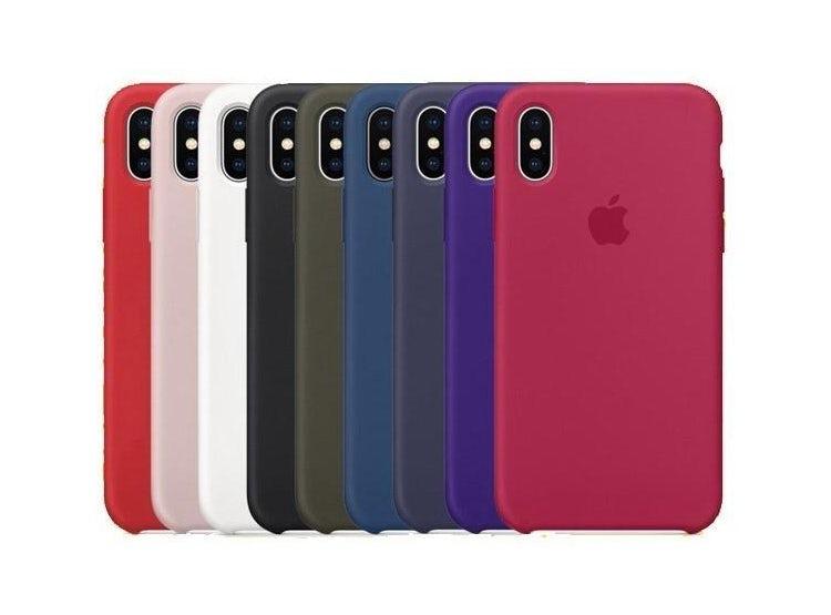 c93af855e10 Ripley - Carcasa Funda De Silicona Para Iphone X Colores