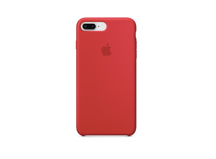 baa9c3df863 Ripley - Carcasa de silicona para iPhone 7 Plus/8 Plus Color Rojo