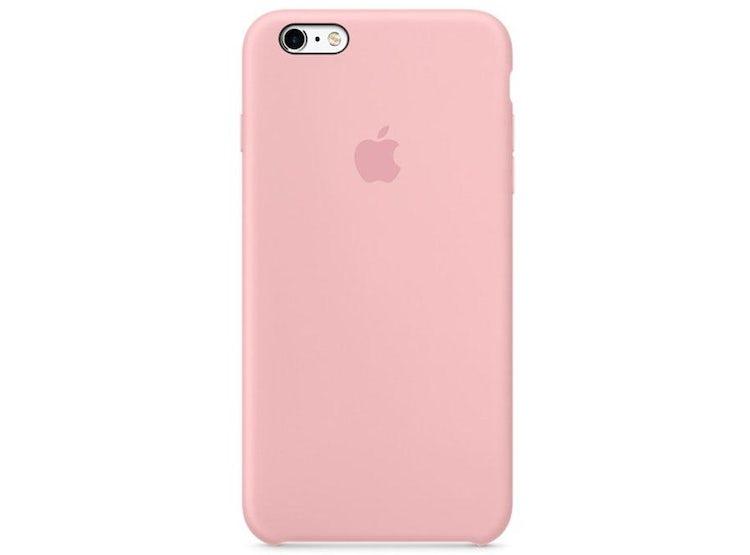 c0232cf2489 Ripley - Carcasa de silicona para iPhone 6s/6 color Rosado