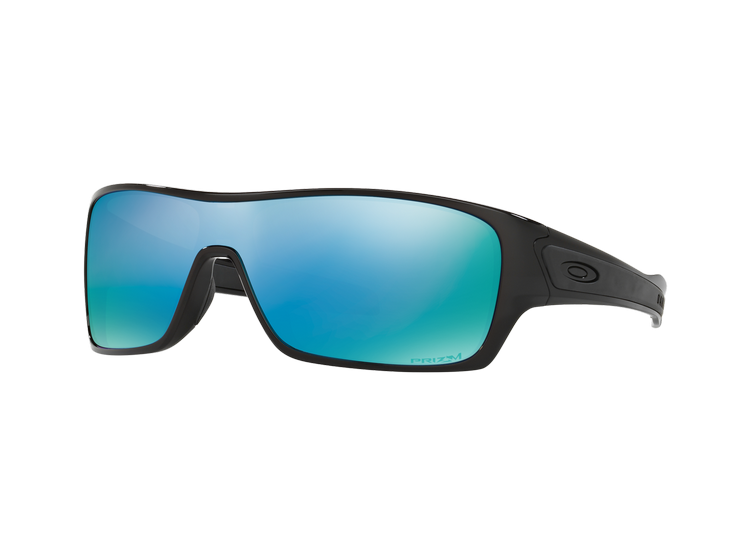 dc55f21e11 Ripley - Oakley Turbine Rotor Polished Black lente Deep WATER Prizm ...