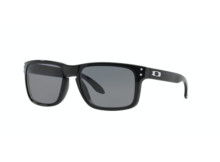 dcd48dd52f83e Ripley - Oakley Holbrook Polished Black lente Grey Polarized
