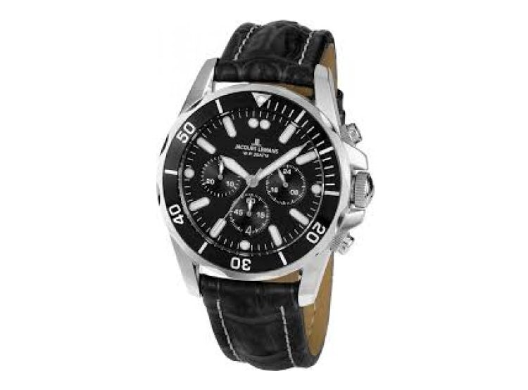 3ae0b6984f6f JACQUES LEMANS. Reloj Hombre Jacques Lemans 1-1907ZA.  149.990. MAYLIS. RELOJ  HOMBRE CRONO GROVE 42MM NEGRO METÁLICO