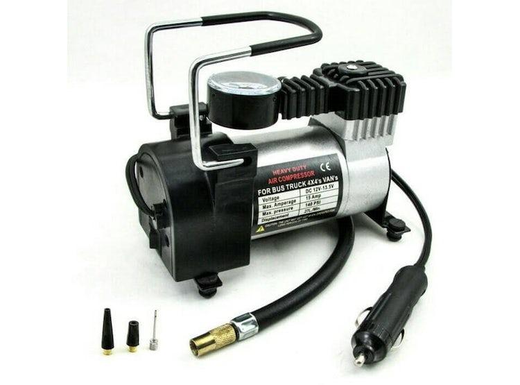 Compresor Aire Inflador Portatil Automovil 12v 140psi Neumaticos