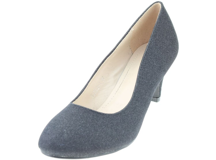 Zapato Negro Carbin Mujer Carbin Zapato Mujer Negro WEDH29I